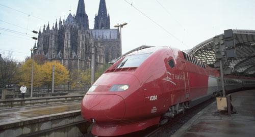 タリス/Thalysの乗り方・鉄道写...